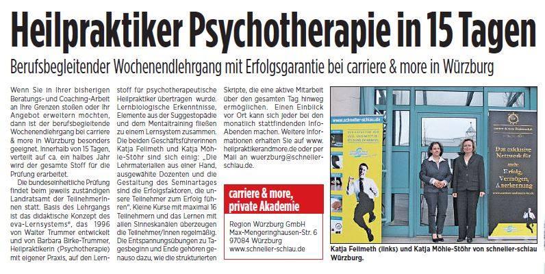 Heilpraktiker Presse Würzburg